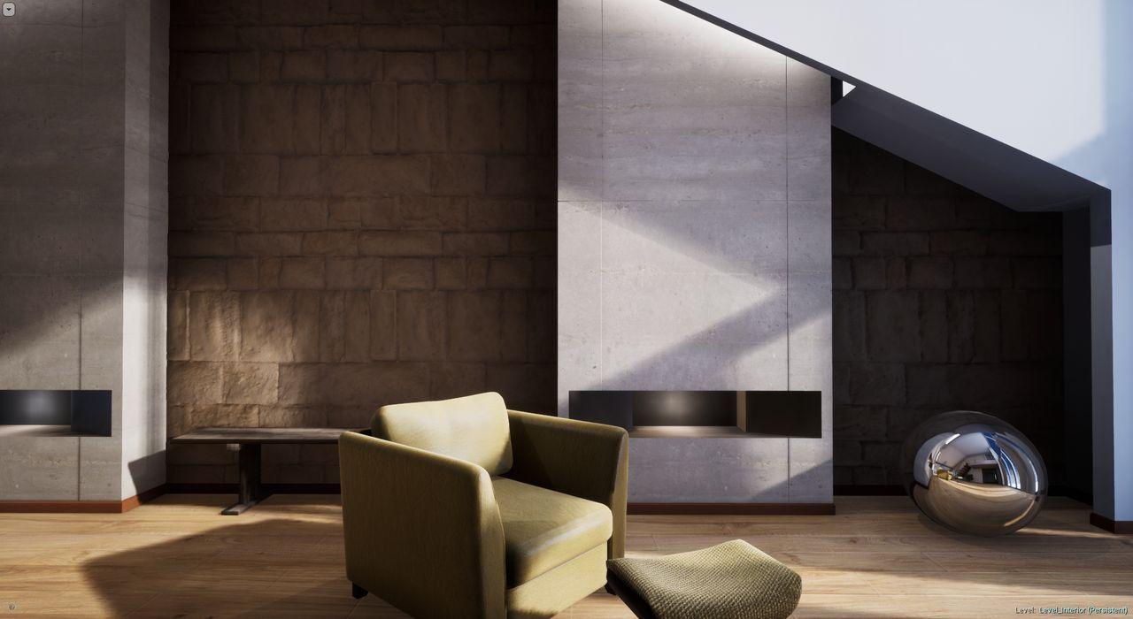Домашняя работа с курса Unreal Engine: Visual Design